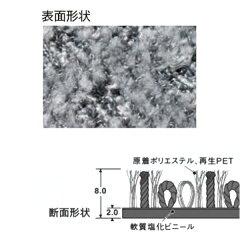 玄関マット屋内エコフロアーマット90×150cm