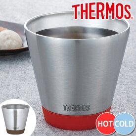 タンブラー サーモス thermos 真空断熱カップ 400ml ステンレス製 食洗機対応 JDD-401 ( 保温 保冷 ステンレスカップ ステンレスタンブラー スープカップ アイスカップ カップ コップ 真空断熱構造 保温カップ 保冷カップ 食器 ステンレス食器 )