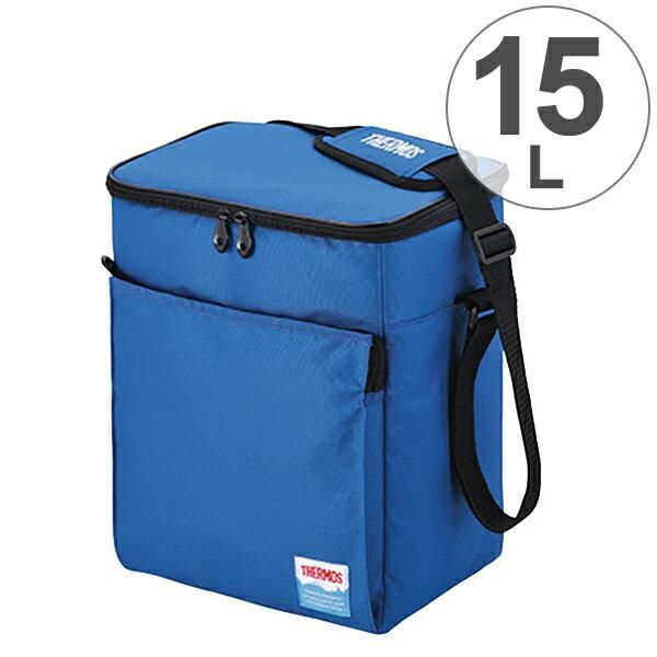 クーラーバッグ ソフトクーラー サーモス(thermos) 15L REF-015 ( 保冷バッグ クーラーボックス 大容量 冷蔵ボックス 保冷バック 折りたたみ コンパクト ペットボトル アウトドア )
