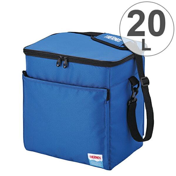 クーラーバッグ ソフトクーラー サーモス(thermos) 20L REF-020 ( 保冷バッグ クーラーボックス 大容量 冷蔵ボックス 保冷バック 折りたたみ コンパクト ペットボトル アウトドア )