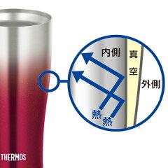 真空断熱タンブラーサーモス(thermos)ステンレスタンブラー420mlJDE-420C