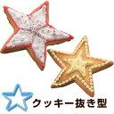 クッキー型 抜き型 スター プラスチック製 ( 製菓グッズ 抜型 製菓道具 星 手作り 製菓用品 お菓子作り プレゼント クリスマス )