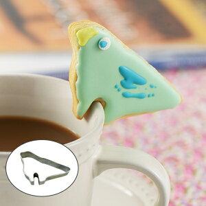 クッキー型 抜き型 ちょいかけクッキー抜型 小鳥 タイガークラウン ( クッキー抜き型 クッキーカッター 製菓グッズ 抜型 製菓道具 お菓子作り ステンレス製 )