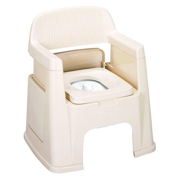 ポータブルトイレ 背もたれ型 ( 送料無料 介護用トイレ 福祉 介護 排泄関連用品 非常用 簡易 トンボ TONBO )