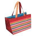 レジカゴバッグ ショッピング ストライプ トートバッグ 手提げ袋 エコロジー