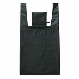 エコバッグ ショッピングバッグ ブラック 大 折りたたみ コンパクト収納 ( トートバッグ 買い物バッグ 買い物袋 レジバッグ コンビニバッグ バッグ 手提げ袋 エコロジーバッグ )