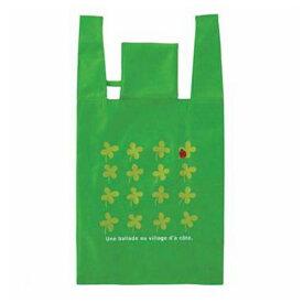 エコバッグ ショッピングバッグ クローバー 折りたたみ コンパクト収納 ( トートバッグ 買い物バッグ 買い物袋 レジバッグ コンビニバッグ バッグ 手提げ袋 エコロジーバッグ )