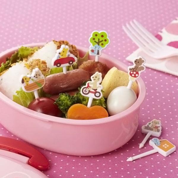 ピック ファニーフレンズピック 8本入 お弁当グッズ ( キャラ弁 お弁当ピック ピックス 子供用 デコ弁 )