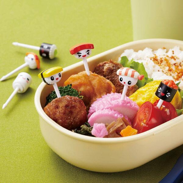 ピック SUSHIピック 7本入 お弁当グッズ ( デコ弁 ピックス 子供用 キャラ弁 寿司ピック すしピック )