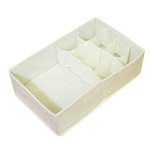 収納ボックス チェスト仕切りボックス フリータイプ ( 布製 引き出し チェスト 仕切り 収納 整理 仕切りボックス 衣類収納 下着 靴下 インナーボックス )