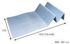 レジャーシート極厚15mm折りたたみ式レジャーマット幅120cm厚手
