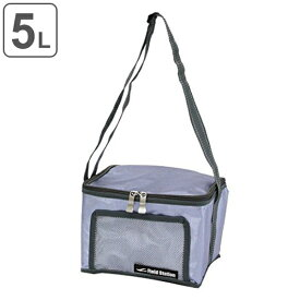 クーラーバッグ アクアクーラー ブルー 5L アルミ ( ソフトクーラー 保冷バッグ クーラーボックス 5冷蔵ボックス 折りたたみ コンパクト 小型 アウトドアグッズ キャンプ用品 5リットル )