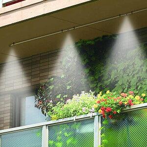 ミストシャワー ドライミスト わが家でミストシャワー 屋外用 ( ミストカーテン 霧シャワー 家庭用 霧 噴射 散水 噴霧器 熱中症対策 クールダウン )