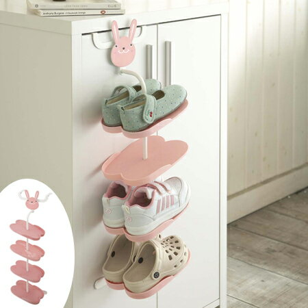 Shoe Rack Kids Hook Type Rabbit (childrenu0027s Shoe Storage Animal Cute Shoe  Hanger Cupboard)