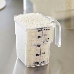 米びつ密閉袋ごと米びつタワーtower5kg計量カップ付き
