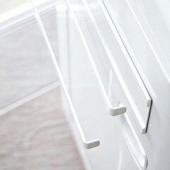 洗濯機横マグネットタオルハンガー2段プレートplate