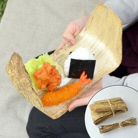 お弁当 おにぎり たけかわ Naturalist 天然 抗菌 ( 天然木 木の皮 木製 お弁当 ランチ ピクニック 使い捨て ちまき )