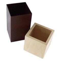 ゴミ箱木製WCUBE4L
