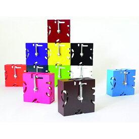 置き時計 ヤマト工芸 yamato PUZZLE-MINI- ( 木製 時計 置時計 アナログ パズル 時計 おしゃれ カラフル コンパクト 雑貨 ミニ パズル かわいい アナログ置き時計 )