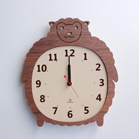 掛け時計 ヤマト工芸 yamato Clock Zoo ヒツジ ( 壁掛け 壁掛け時計 時計 アニマル おしゃれ 木 かけ時計 ナチュラル 木製 壁 アナログ 壁かけ時計 インテリア時計 木製時計 ウッドクロック 木製インテリア クロック )