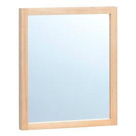 ウォールミラー ナチュラルテイスト アルダー材 Tiny2 幅30cm ( 送料無料 ミラー かがみ 壁掛け 壁掛けミラー 長方形 カガミ 壁掛け鏡 玄関 木製フレーム 木製 天然木 アルダー おしゃれ )