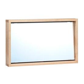 スタンドミラー ナチュラルテイスト アルダー材 Tiny2 幅65cm ( 送料無料 ミラー かがみ メイクミラー 化粧鏡 メイク鏡 卓上 長方形 カガミ 木製フレーム ドレッサー テーブルミラー 化粧 メイク 木製 天然木 アルダー おしゃれ )