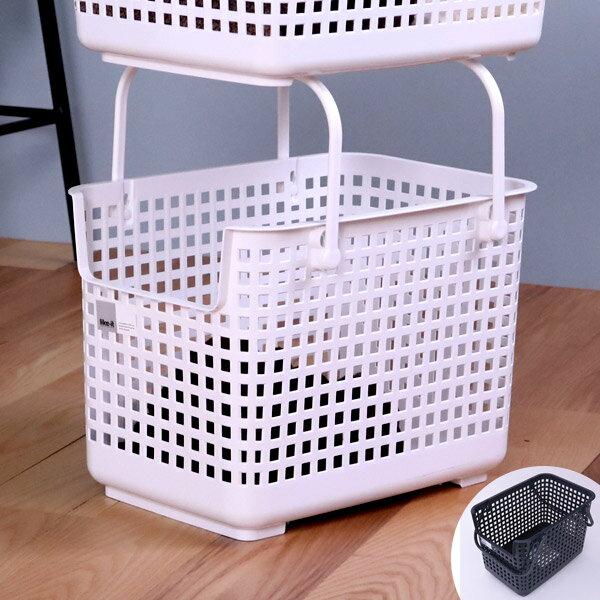 ランドリーバスケット スタッキングベース like-it ( 洗濯かご バスケット ランドリーボックス 洗濯用品 洗濯 ランドリー ランドリー用品 収納ケース 収納ボックス スタッキング 積み重ねる 重ねる 収納用品 )