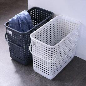 ランドリーバスケット スタッキングランドリーバスケットL LBB-12C バイオプラスチック配合 ( 洗濯かご バスケット ランドリーボックス ライクイット like-it 洗濯用品 洗濯 ランドリー用品 スタッキング 積み重ねる 重ねる 収納 )