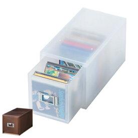 収納ボックス 引き出し プラスチック LM-30 深型 CD 収納 日本製 ( 小物収納 収納ケース ケース ボックス 引出し 小物ケース 小物 書類 卓上収納 整理整頓 デスク周り レターケース 事務用品 おしゃれ )