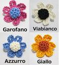 【送料無料・代引き不可】ブートニエール San Carlino サンカルリーノ 【Snow Rose】メンズアクセサリー ラペルピン