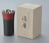 アサヒ漆磨(Shi-moa)黒彩シングルカップL【桐箱入】SCS-S601【本漆塗装品】日本製MadeinTsubame
