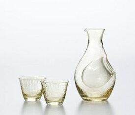 東洋佐々木ガラス 酒グラスコレクション 高瀬川 琥珀 冷酒セット G604-M72 ハンドメイド 専用化粧箱入り