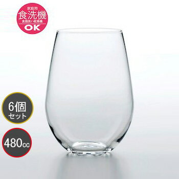 【東洋佐々木ガラス】【6個セット】タンブラー フィーノ HS強化グラス B-21123CS プロユース 業務用 家庭用 バーアイテム 薄作り