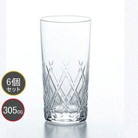 東洋佐々木ガラス 6個セット 10オンスタンブラー レジナ HS強化グラス T-21102HS-E107 プロユース 業務用 家庭用 コップ 家飲み ウィスキーグラス バーアイテム