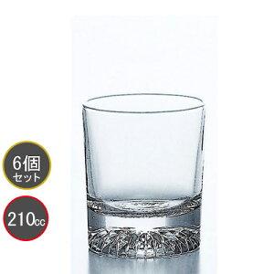 東洋佐々木ガラス 6個セット 北斗 7オンスオールド タンブラーP-01125-JAN プロユース 業務用 家庭用 コップ 家飲み ウィスキーグラス バーアイテム