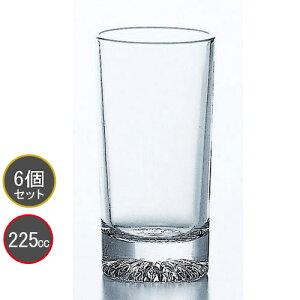 東洋佐々木ガラス 6個セット 北斗 8オンスタンブラー P-01121-JAN プロユース 業務用 家庭用 コップ 家飲み ウィスキーグラス バーアイテム