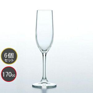 東洋佐々木ガラス 6本セット レセプション シャンパングラス 30K54HS HS強化グラス プロユース 業務用 家庭用 コップ 家飲み ワイングラス バーアイテム