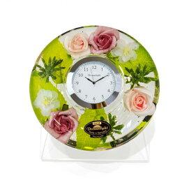 ドリームクロック 置き時計 シャルロッタ 直径約11cm×高さ4cm CDD72110CL