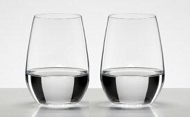 包装無料 RIEDEL リーデル オー (O) 日本酒 大吟醸グラス 酒テイスター 木箱入り ≪ペア≫ 2414/22-2S