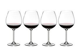 4本購入でポイント10倍 送料無料・包装無料 RIEDEL リーデル Wine ワインシリーズ ≪4本セット≫ 6448/7 6448/07 ワイングラス ピノ・ノワール/ネッビオーロ