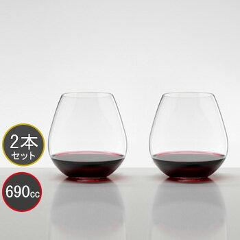 包装無料 RIEDEL リーデル オー (O) ワイングラス 414/7 0414/07 ピノ・ノワール/ネッビオーロ ≪ペア≫