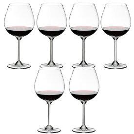 6本購入でポイント10倍 送料無料・包装無料 RIEDEL リーデル Wine ワインシリーズ ≪6本セット≫ 6448/7 6448/07 ワイングラス ピノ・ノワール/ネッビオーロ