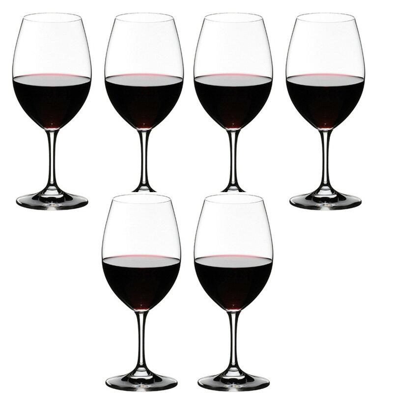 6本購入でポイント10倍 代理店商品・包装無料・送料無料 RIEDEL リーデル オヴァチュア(オバチュア) ワイングラス 6408/00 レッドワイン 赤ワイン <6本セット> overture