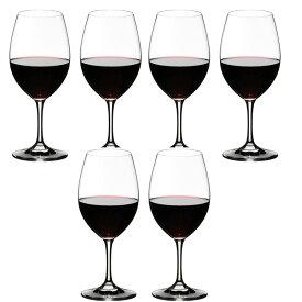 6本購入でポイント10倍 送料無料・包装無料 RIEDEL リーデル オヴァチュア(オバチュア) ワイングラス 6408/00 レッドワイン 赤ワイン <6本セット> overture
