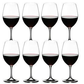 8本購入でポイント10倍 送料無料・包装無料 RIEDEL リーデル オヴァチュア(オバチュア) ワイングラス 6408/00 レッドワイン 赤ワイン <8本セット> overture