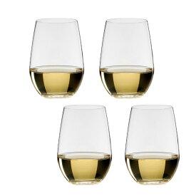 4個セット 包装無料 RIEDEL リーデル オー (O) 414/15 ワイングラス リースリング/ソーヴィニオン ≪ペア箱x2≫ 0414/15