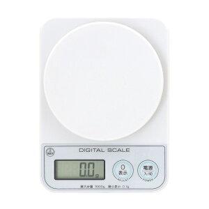 デジタルキッチンスケール 1kg(微量モード0.1g対応) ADS-1100 1g〜200g まで 0.1g単位 計測