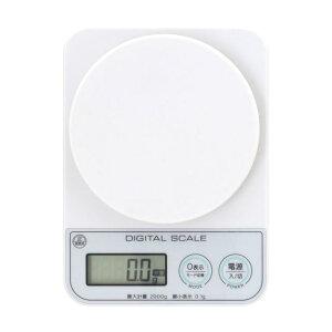 デジタルキッチンスケール 2kg(微量モード0.1g対応) ADS-2100 1g〜200g まで 0.1g単位 計測