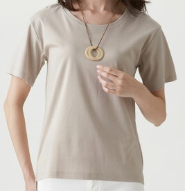 セルヴァン 綿100%汗ジミ目立ちにくいTシャツ