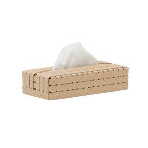 Bandc ボックス ベージュ エシカル 自然素材 シンプル 北欧 モダン インテリア 日本製 BT0107 Bandc Tissue Box TB / Beige
